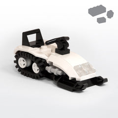 Custom LEGO Snowmobile
