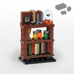 Custom LEGO Creepy Shelf