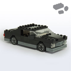 Supernatural Impala Parts+Instructions - BRICKSTORMS  - 1
