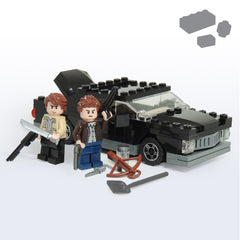 Custom LEGO Supernatural Impala Hunters Pack - Parts and Instructions - BRICKSTORMS  - 1