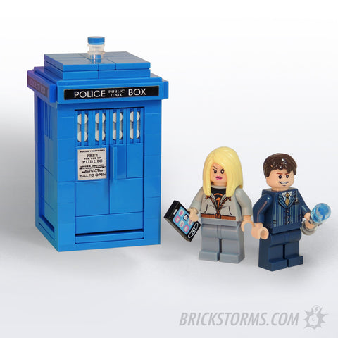 Custom LEGO Police Call Box 10th Travelers Pack