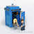 Custom LEGO Police Call Box - Parts+Instructions - BRICKSTORMS  - 4