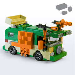 Custom LEGO Turtle Party Wagon Parts+Instructions - BRICKSTORMS  - 1