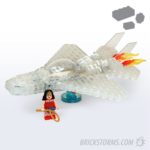 Custom Lego Invisible Jet