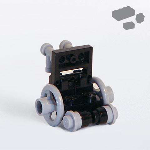 Custom LEGO Classic Wheelchair