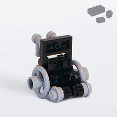 Wheelchair Classic Parts+Instructions - BRICKSTORMS  - 1