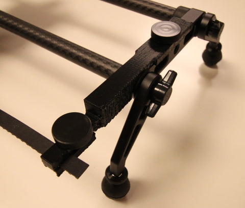 A 3D printed prototype of the Rhino slider belt holding bars