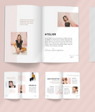 Advanced Program - Media Kit, Magazine Spread, Press Release, Manager