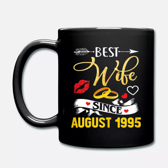 24th Wedding Anniversary Best Wife Since 1995