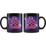 Marvel Movies - Avengens end game Black Mug