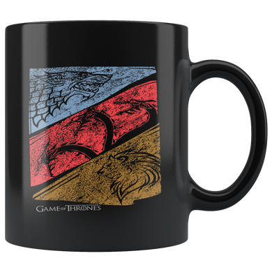 Game of Thrones - Three Houses Official Logo 11 oz mug