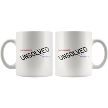 Load image into Gallery viewer, Buzzfeed Unsolved Supernatural True Crime Inspired 11 oz mugs