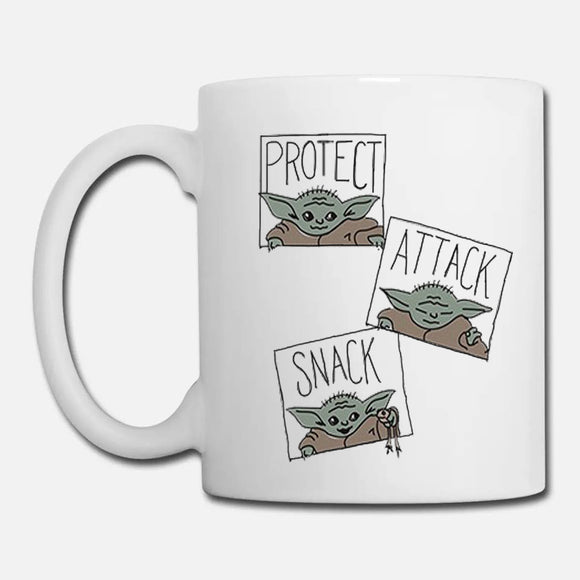 Baby Yoda Protect Attack Snack