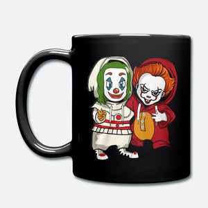 Baby Joker and baby Pennywise