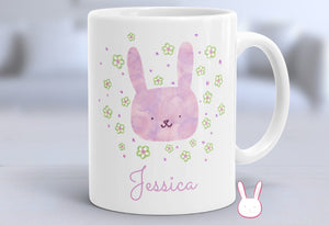 Bunny - Baby Bunny - Rabbit - Customizable Mug - Rabbit Mug - Rabbit Coffee Cup - Funny Bunny Mug - Funny Rabbit Mug - Bunny Lover - Custom