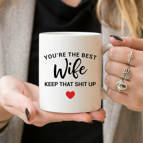 Gift for Wife Mug Anniversary Gifts for Wife Gift for Her Gift for Women