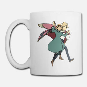Howl Watercolor - Howl's moving castle Coffee Mug 11 oz