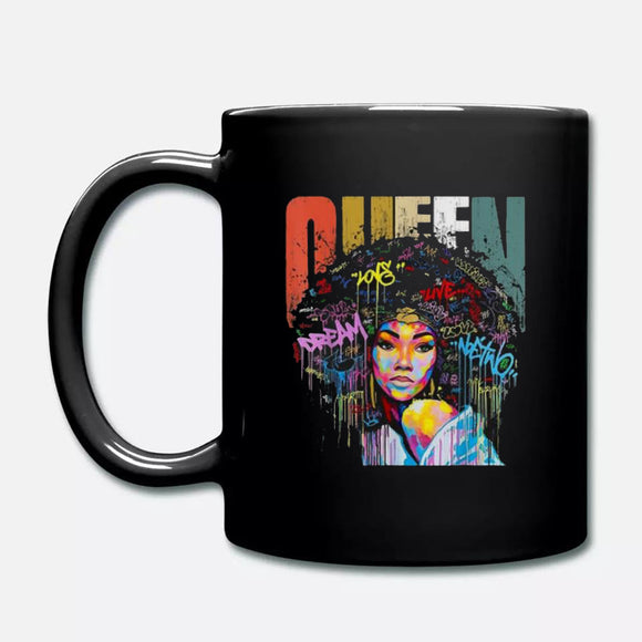 Nice Black Women Queen Vintage Colorful