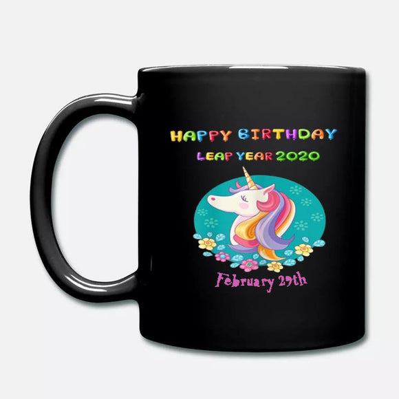 Pretty Leap Day 2020 Happy Birthday Unicorn Bruary 29th
