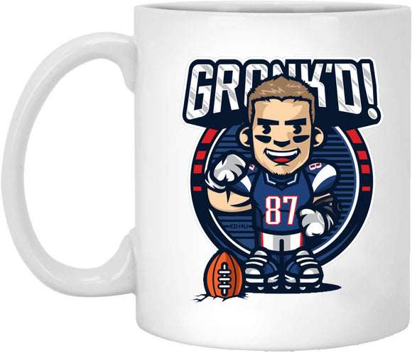 Rob Gronkowski Mug - Jersey Number Football 11oz Mug