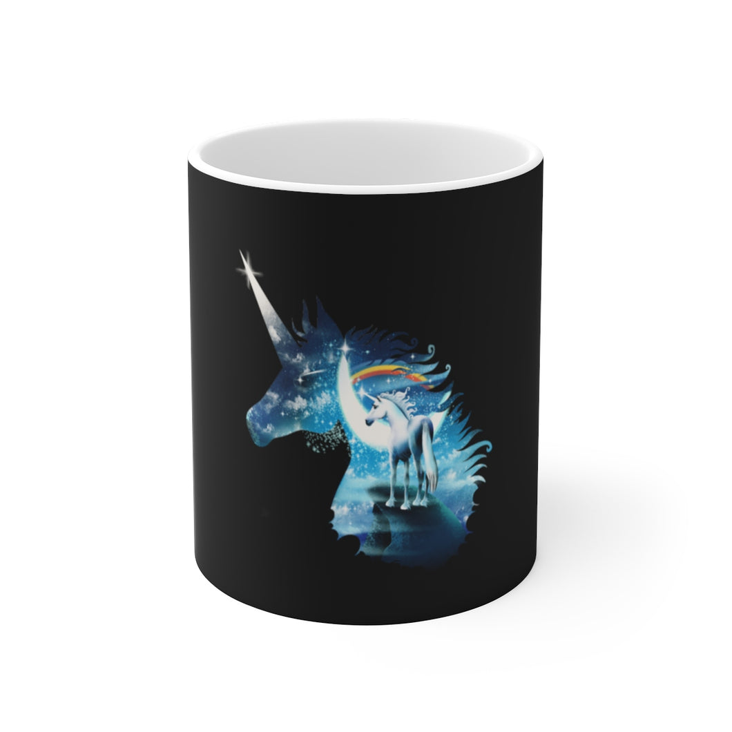 MAGIC UNICORN White Ceramic Mug