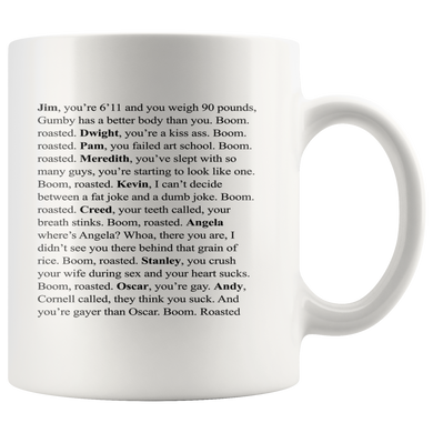 The Office Boom Roasted Coffee Mug 11 oz mugs mug