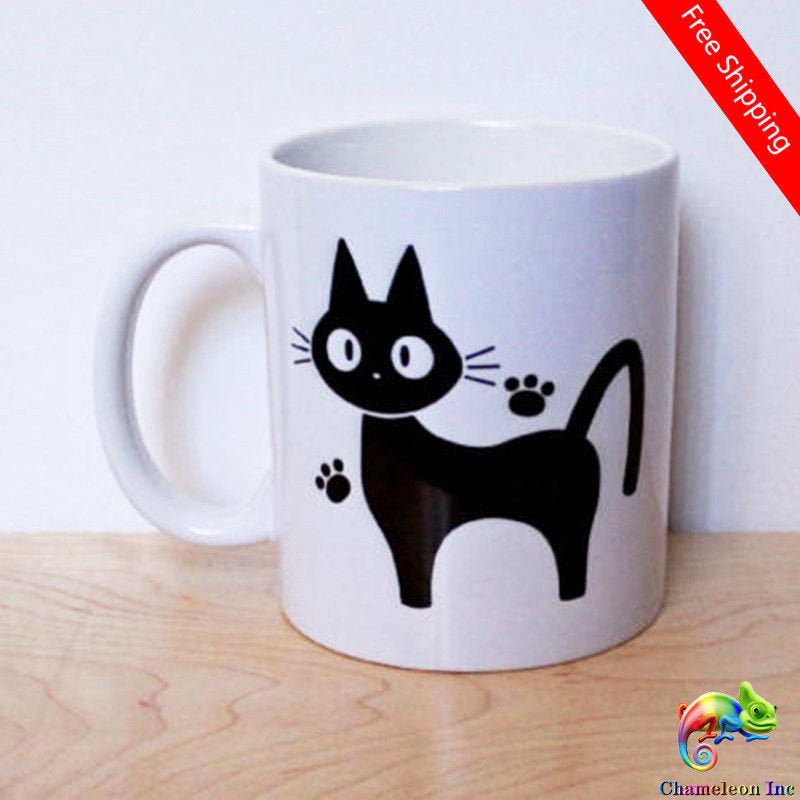 Jiji The Cat Mug Studio Ghibli Mug Cat lover 11 Oz Mug