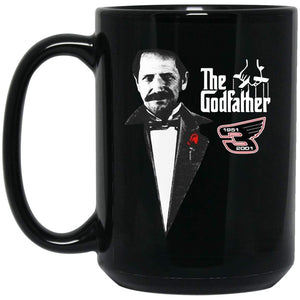 DaLE EARNHARDT THE GODFATHER 1951 11 oz. Black Mug