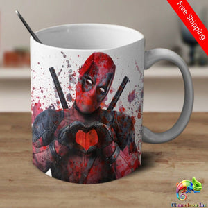 Details about  Deadpool Coffee Mug  11 oz mugs mug