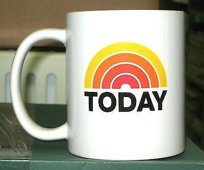 The ToDaY SHoW NbC LoGO COFFEE MUG WHITE 11OZ