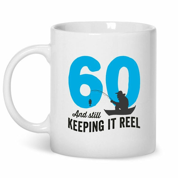 Details about   Fishing Mug, Keeping It Reel, 60th Birthday Gift, 60th Birthday Gifts For Men 11 oz mugs mug
