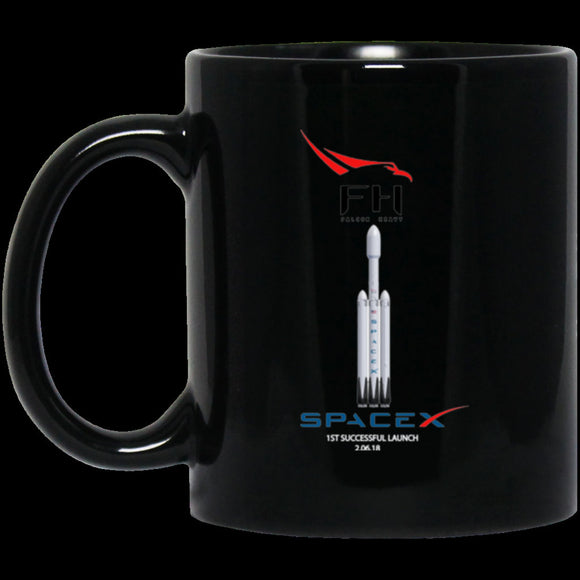 Details about  Falcon Heavy Elon Musk Space x Black Coffee Coworker Office Birthday Mug Gift 11 oz mugs mug