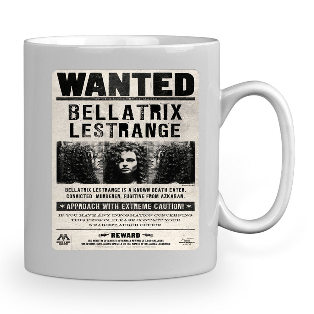 Harry Potter Bellatrix Lestrange Wanted 11 oz mug