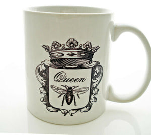 QUEEN BEE Matriarch Coffee Mug TeA Honey Mom Mother GIRLFRIEND Save the Beets 11 oz mugs mug