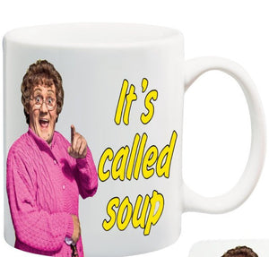 Mrs Browns Boys Mug Coaster Its Called Soup 11 oz mugs mug
