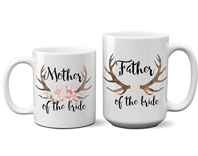 Father Mother Bride Groom Coffee  11 oz mugs mug