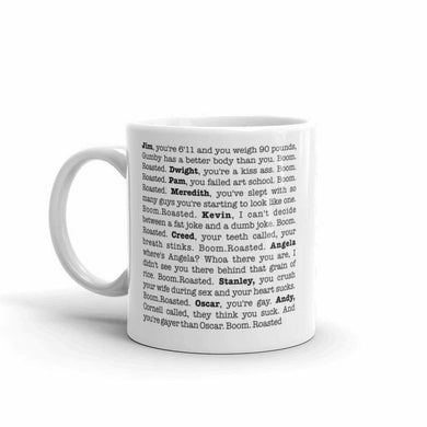 Details about  The Office Boom Roasted Coffee Mug 11 oz mugs mug