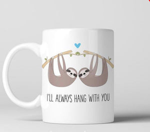 Details about  Friendship Gift Sloth COFFEE mug Custom Personalized Gifts Personalized Mug 11 oz mugs mug