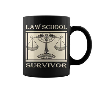 Details about  Law School Survivor Attorney Lawyer Graduation Gift Mug 11 oz mugs mug