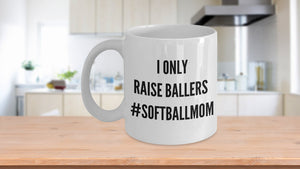 Softball Mom Dad Coffee Mug Tea Cup Gift Birthday Christmas Hanukkah New  11 oz mugs mug