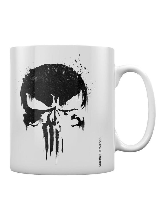 The Punisher Mug Skull Boxed White  11 oz mugs mug