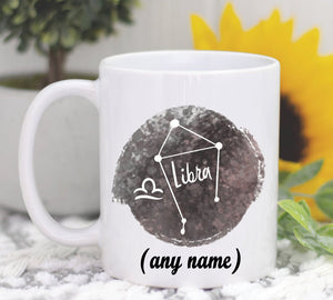 Personalized Mug, Libra Birthday Gift, Libra Zodiac Sign, Libra Coffee Mug, Libra Zodiac Mug, Libra Astrology Gift, Libra Horoscope,