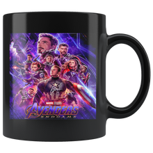 Load image into Gallery viewer, Marvel Movies - Avengens end game Black Mug