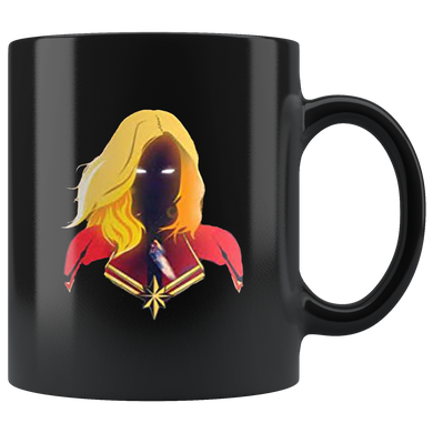 captain marvel mug coffee black ceramic 11 oz mugs