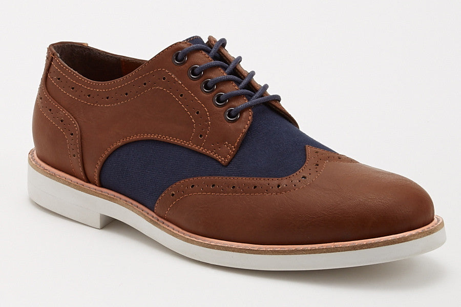 Vincent - Brown/Navy