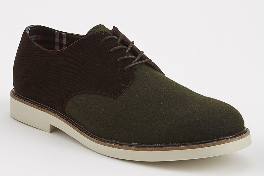 Jeffrey - Olive/Brown