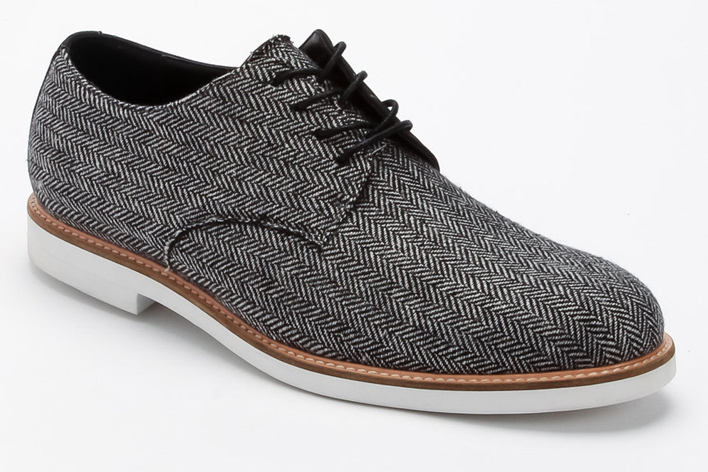 Jeffrey - Grey Tweed