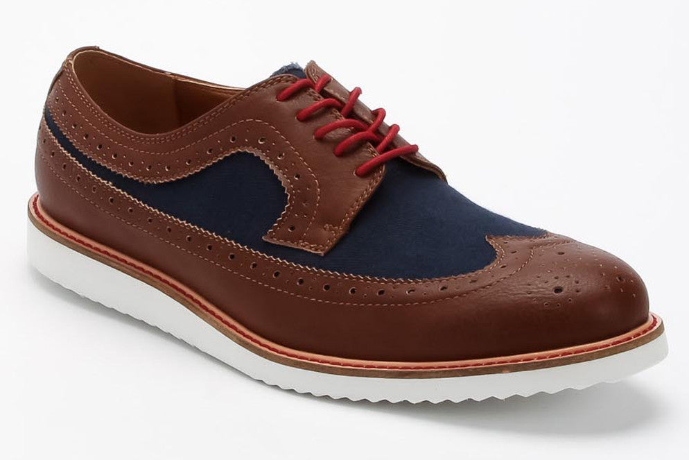 Rob - Brown/Navy