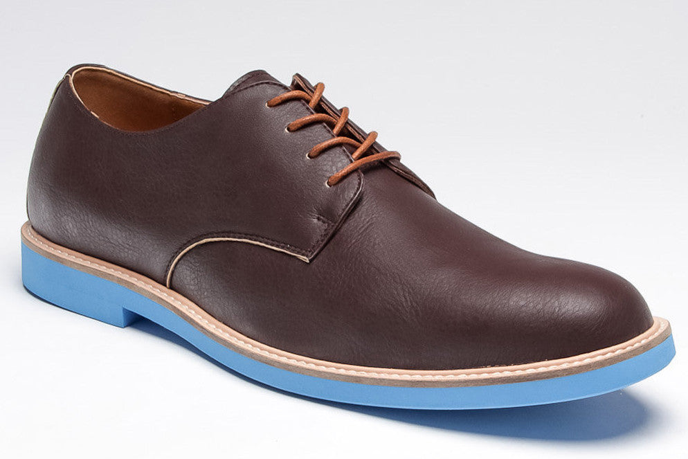 Jeffrey - Dark Brown/Blue