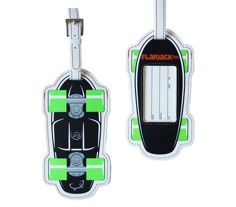 Black Skateboard Luggage Tag